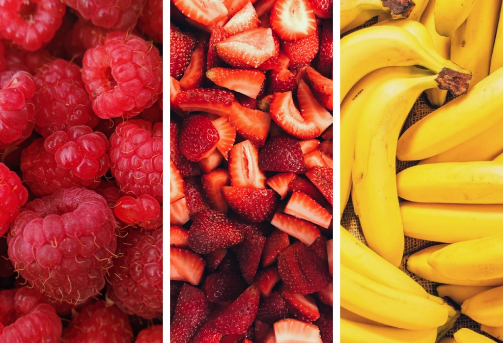 Ingredientes_frambuesa_fresa_plátano